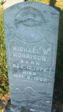 MORRISON, MICHAEL W - Newton County, Arkansas | MICHAEL W MORRISON - Arkansas Gravestone Photos