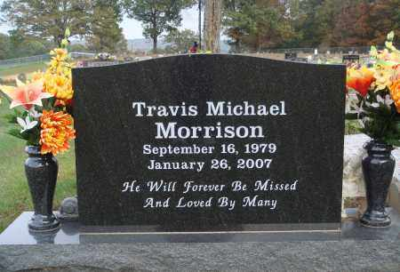 MORRISON, TRAVIS MICHAEL - Newton County, Arkansas | TRAVIS MICHAEL MORRISON - Arkansas Gravestone Photos