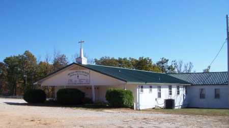 *MOUNTAIN SPRINGS CHURCH VIEW,  - Newton County, Arkansas |  *MOUNTAIN SPRINGS CHURCH VIEW - Arkansas Gravestone Photos