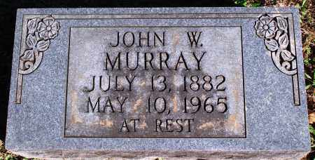 MURRAY, JOHN W. - Newton County, Arkansas | JOHN W. MURRAY - Arkansas Gravestone Photos