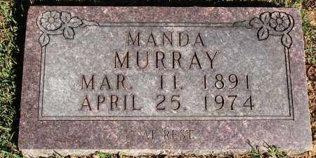 MURRAY, MANDA - Newton County, Arkansas | MANDA MURRAY - Arkansas Gravestone Photos