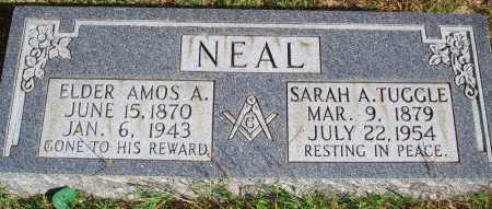 NEAL, AMOS A. - Newton County, Arkansas | AMOS A. NEAL - Arkansas Gravestone Photos