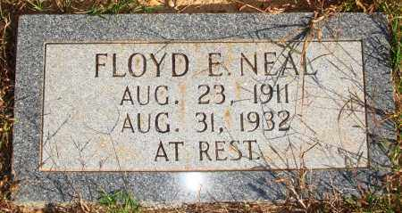 NEAL, FLOYD E. - Newton County, Arkansas | FLOYD E. NEAL - Arkansas Gravestone Photos