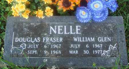 NELLE, WILLIAM GLEN - Newton County, Arkansas | WILLIAM GLEN NELLE - Arkansas Gravestone Photos