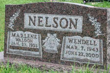 NELSON, WENDELL - Newton County, Arkansas | WENDELL NELSON - Arkansas Gravestone Photos