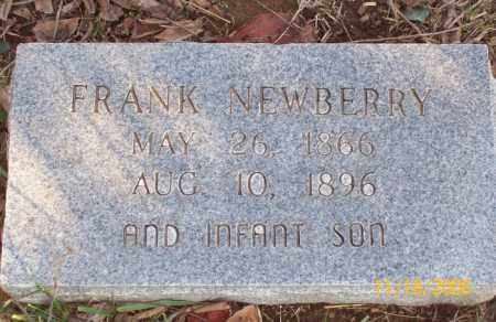 NEWBERRY (2), BENJAMIN FRANKLIN - Newton County, Arkansas | BENJAMIN FRANKLIN NEWBERRY (2) - Arkansas Gravestone Photos