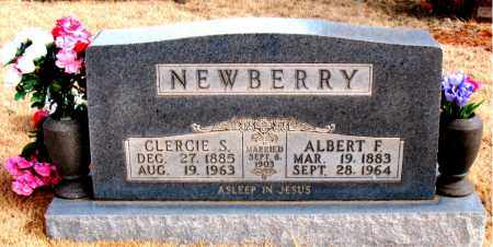 NEWBERRY, CLERCIE SUSAN - Newton County, Arkansas | CLERCIE SUSAN NEWBERRY - Arkansas Gravestone Photos