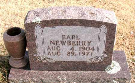 NEWBERRY, EARL - Newton County, Arkansas | EARL NEWBERRY - Arkansas Gravestone Photos