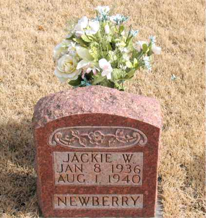 NEWBERRY, JACKIE W. - Newton County, Arkansas | JACKIE W. NEWBERRY - Arkansas Gravestone Photos