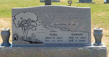 NEWBERRY, LONNIE - Newton County, Arkansas | LONNIE NEWBERRY - Arkansas Gravestone Photos