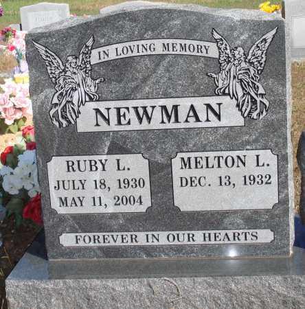 NEWMAN, RUBY L. - Newton County, Arkansas | RUBY L. NEWMAN - Arkansas Gravestone Photos
