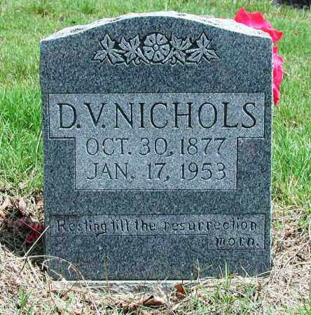 NICHOLS, D V - Newton County, Arkansas | D V NICHOLS - Arkansas Gravestone Photos