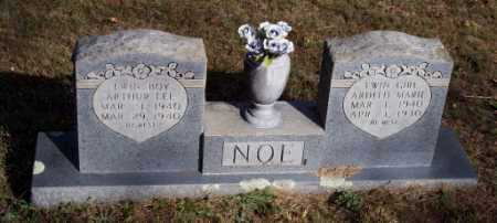 NOE, ARTHUR LEE - Newton County, Arkansas | ARTHUR LEE NOE - Arkansas Gravestone Photos