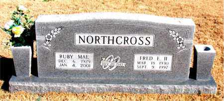 NORTHCROSS, II, FRED E. - Newton County, Arkansas | FRED E. NORTHCROSS, II - Arkansas Gravestone Photos