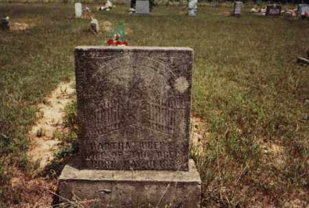 OBER, MARTHA - Newton County, Arkansas | MARTHA OBER - Arkansas Gravestone Photos