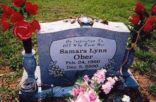 OBER, SAMARA LYNN - Newton County, Arkansas | SAMARA LYNN OBER - Arkansas Gravestone Photos