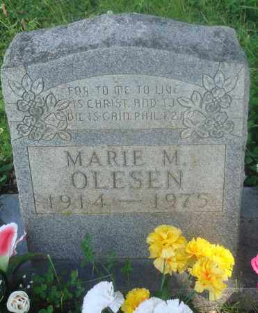 OLESEN, MARIE M - Newton County, Arkansas | MARIE M OLESEN - Arkansas Gravestone Photos
