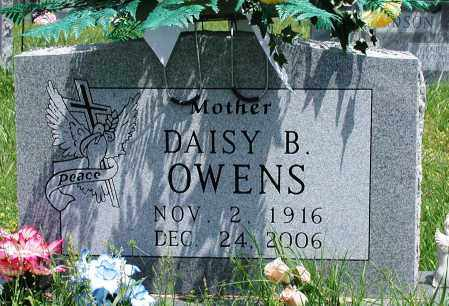 OWENS, DAISY B - Newton County, Arkansas | DAISY B OWENS - Arkansas Gravestone Photos