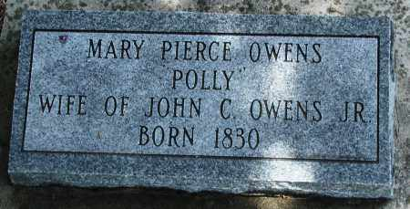 "PIERCE OWENS, MARY ""POLLY"" - Newton County, Arkansas 