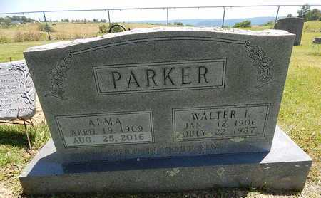 PARKER, WALTER I. - Newton County, Arkansas | WALTER I. PARKER - Arkansas Gravestone Photos