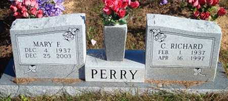 PERRY, C. RICHARD - Newton County, Arkansas | C. RICHARD PERRY - Arkansas Gravestone Photos