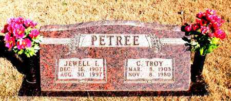 PETREE, JEWELL I. - Newton County, Arkansas | JEWELL I. PETREE - Arkansas Gravestone Photos