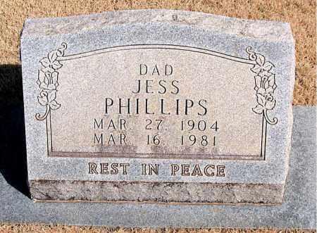 PHILLIPS, JESS - Newton County, Arkansas | JESS PHILLIPS - Arkansas Gravestone Photos
