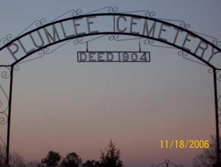 *PLUMLEE CEMETERY GATE,  - Newton County, Arkansas |  *PLUMLEE CEMETERY GATE - Arkansas Gravestone Photos