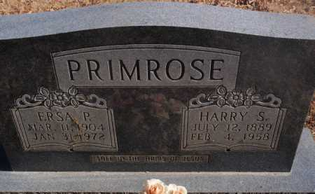 PRIMROSE, ERSA P. - Newton County, Arkansas | ERSA P. PRIMROSE - Arkansas Gravestone Photos