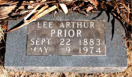 PRIOR, LEE ARTHUR - Newton County, Arkansas | LEE ARTHUR PRIOR - Arkansas Gravestone Photos