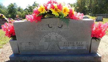 PROCTOR, MINNIE - Newton County, Arkansas | MINNIE PROCTOR - Arkansas Gravestone Photos