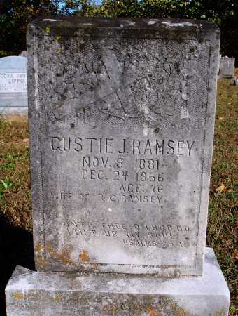 "HOLCOMB RAMSEY, AUGUSTA ""GUSTIE"" J. - Newton County, Arkansas 
