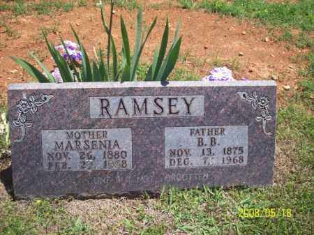 RAMSEY, MARSENIA - Newton County, Arkansas | MARSENIA RAMSEY - Arkansas Gravestone Photos