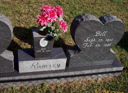 RAMSEY, BILL - Newton County, Arkansas | BILL RAMSEY - Arkansas Gravestone Photos