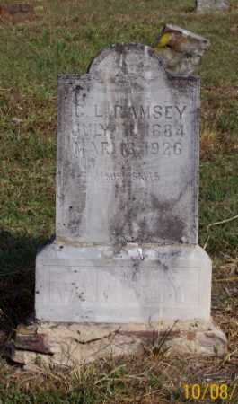 RAMSEY, C. L. - Newton County, Arkansas | C. L. RAMSEY - Arkansas Gravestone Photos