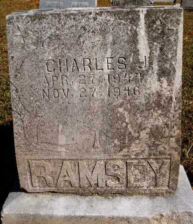 RAMSEY, CHARLES J. - Newton County, Arkansas | CHARLES J. RAMSEY - Arkansas Gravestone Photos