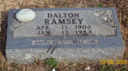 RAMSEY, DALTON - Newton County, Arkansas | DALTON RAMSEY - Arkansas Gravestone Photos