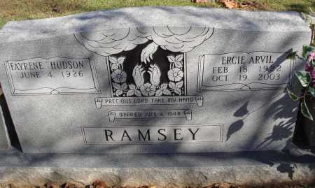 RAMSEY, ERCIE ARVIL - Newton County, Arkansas | ERCIE ARVIL RAMSEY - Arkansas Gravestone Photos