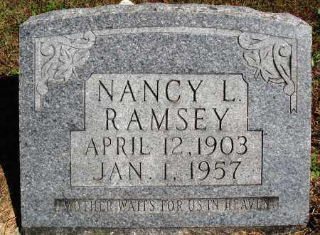 VAUGHN RAMSEY, NANCY L. - Newton County, Arkansas | NANCY L. VAUGHN RAMSEY - Arkansas Gravestone Photos