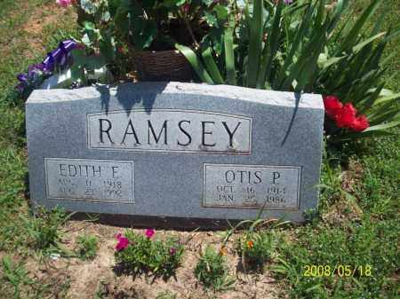 RAMSEY, OTIS P - Newton County, Arkansas | OTIS P RAMSEY - Arkansas Gravestone Photos