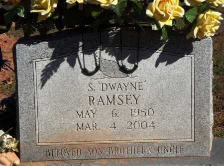RAMSEY, S. DWAYNE - Newton County, Arkansas | S. DWAYNE RAMSEY - Arkansas Gravestone Photos