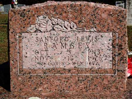RAMSEY, SANFORD LEWIS - Newton County, Arkansas | SANFORD LEWIS RAMSEY - Arkansas Gravestone Photos