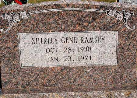 RAMSEY, SHIRLEY GENE - Newton County, Arkansas | SHIRLEY GENE RAMSEY - Arkansas Gravestone Photos