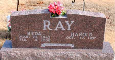 RAY, REDA - Newton County, Arkansas | REDA RAY - Arkansas Gravestone Photos