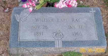 RAY, WILLIAM EARL - Newton County, Arkansas | WILLIAM EARL RAY - Arkansas Gravestone Photos