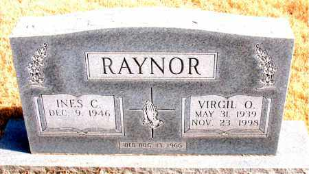 RAYNOR, VIRGIL O. - Newton County, Arkansas | VIRGIL O. RAYNOR - Arkansas Gravestone Photos
