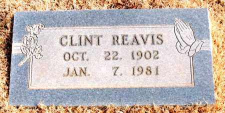 REAVIS, CLINT - Newton County, Arkansas | CLINT REAVIS - Arkansas Gravestone Photos