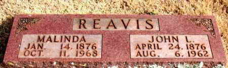 REAVIS, JOHN L. - Newton County, Arkansas | JOHN L. REAVIS - Arkansas Gravestone Photos