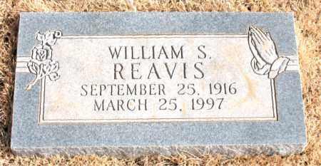 REAVIS, WILLIAM S. - Newton County, Arkansas | WILLIAM S. REAVIS - Arkansas Gravestone Photos