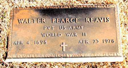 REAVIS (VETERAN WWII), WALTER PEARCE - Newton County, Arkansas | WALTER PEARCE REAVIS (VETERAN WWII) - Arkansas Gravestone Photos
